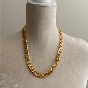 TRINA TURK gold chain with translucent tray